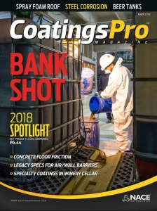 CoatingsPro Cover July 2018