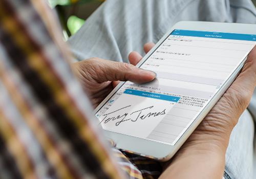 Mobile Form Signature